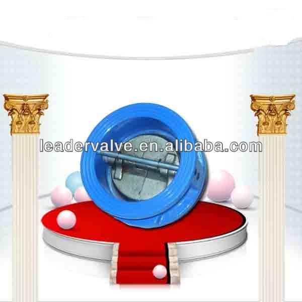 Water Type Wafer Butterfly Check Valve for cast iron