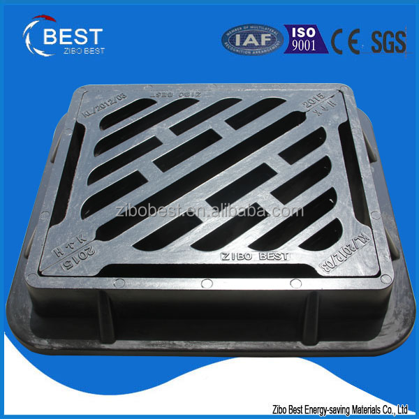 EN124 light zibo best customized gully garage floor drain cover