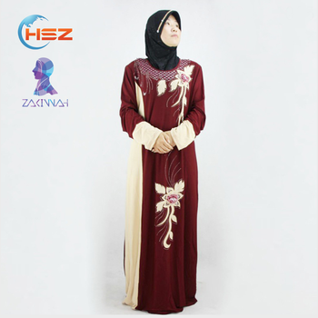 Zakiyyah 121004 new arrival abaya designs in pakistan saudi wholesale bulk muslim clothing for women