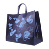 Custom silk screen print recycled extra large jumbo promotional cheap shopping tote non woven bag