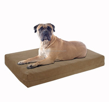 Waterproof memory foam dog bed pet accessories dog mattress Pet Bed for Cat & Dog Crate Bedding Mattress Pad