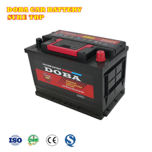 Europ Standard High quality car battery 12v 75ah