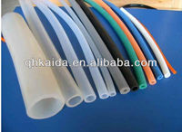 Eco-friendly flat silicone foam rubber tube made in china