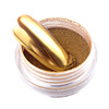 New arrival popular fast dry mirror effect gold silver color acrylic dip gel powder nail kit dip powder nails
