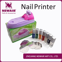 2017 Digital nail art printer flower printer
