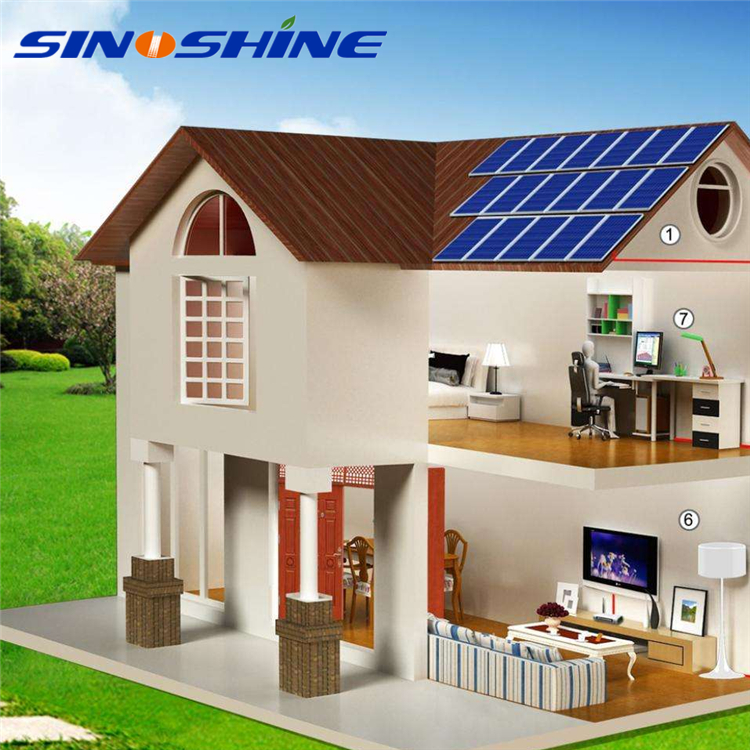 Solar System Price For Home Use High Efficiency off grid solar system 7kw with galvanized steel