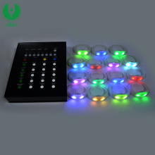 Wholesale Custom Remote Control LED Flashing Bracelet, Silicone LED Light Wristband