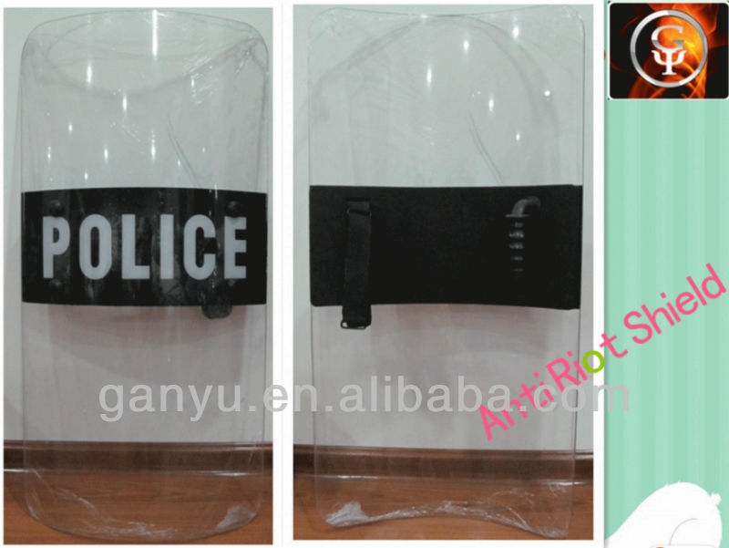 anti riot shield for riot control transparent anti riot shield