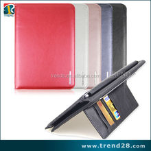 new products kickstand leather case for ipad mini2