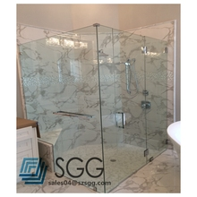6mm 8mm 10mm 12mm tempered glass partition for bathroom