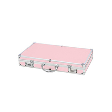 Fashion Hard Pink Aluminum Pistol Gun Case Withe Combination Lock