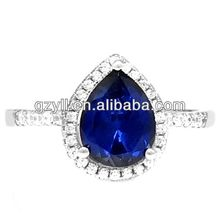 Fine Anniversary silver jewelry big rings/wholesale jewelry ring /fashion 925 silver jewelry ring