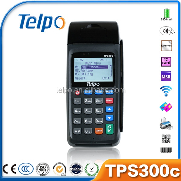 Telepower whoelsae card reader Bingo game Loyalty card POS terminal TPS300c