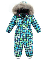 good quality fashion overall ski AIO outdoor baby warm snowsuit