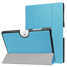 Tri-fold Tablet Leather Stand Cover Case for Acer Iconia One 10 B3-A40
