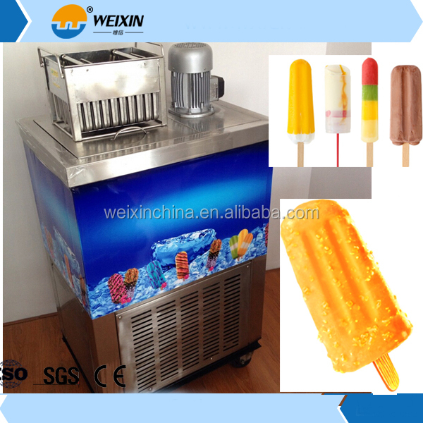 Variety moulds Ice popsicle making machine /ice lolly machine