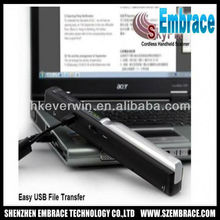 original 900dpi skypix tsn410 portable scanner