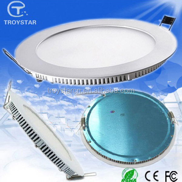 10W 8inch Epistar Lamp led CE RoHS FCC Milky Cover LED Round Panel Light