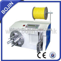 power cable spool winding machine
