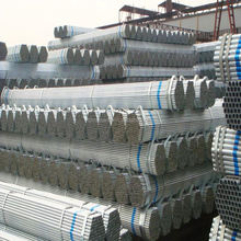 Standard length of galvanized steel pipe class b for greenhouse