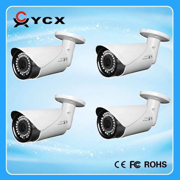 2.0M Pixel Metal AHD camera 1080P IP66 Waterproof Outdoor CCTV camera