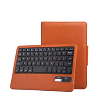 Business style Flip Keyboard Leather Case Holder stand case cover for ipad mini
