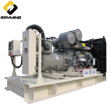 Low noise and high quality compressed air powered generator