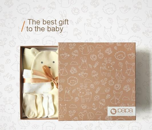 New design baby shower gift boxes