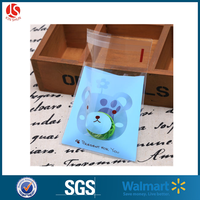 self adhesive backed seal clear plastic resealable bags from china alibaba supplier