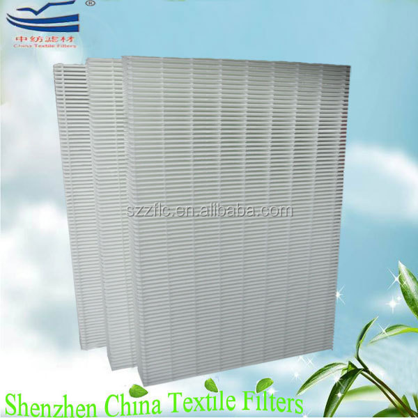 H10 glass microfiber pleated pack filters