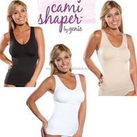 As seen on TV Items High Quality Cami shaper by genie Seamless belt padding the body part to fashion garment