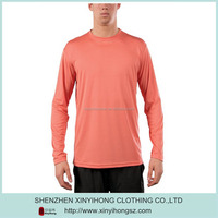 Long sleeve bamboo/spandex blended fabric undershirt ,wholesale bamboo shirt for men