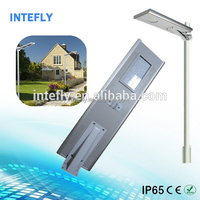 6w to 80w available, solar led street light with ce/tuv/ul/cul solar led street lamp