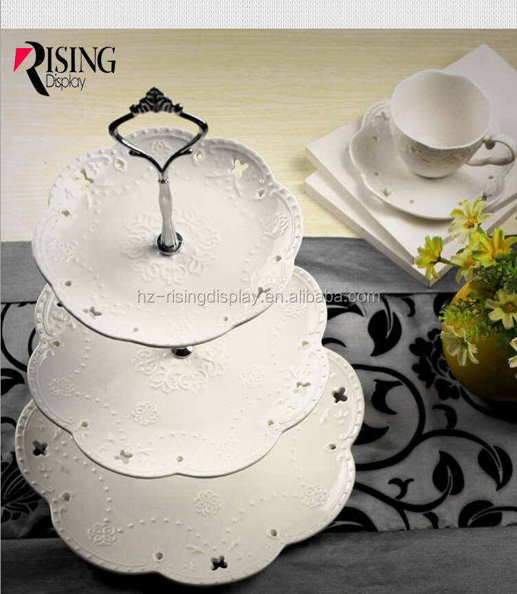 Wholesale Colorful Ceramic Mini Cake Stand