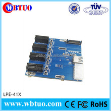 New product PCI-E to PCIe 4 slot riser Expansion card for bitcoin miner