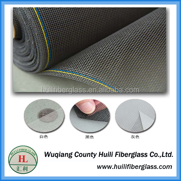 Dust proof mosquito netting China Best insect screen mosquito net/Stealth fiberglass window screening