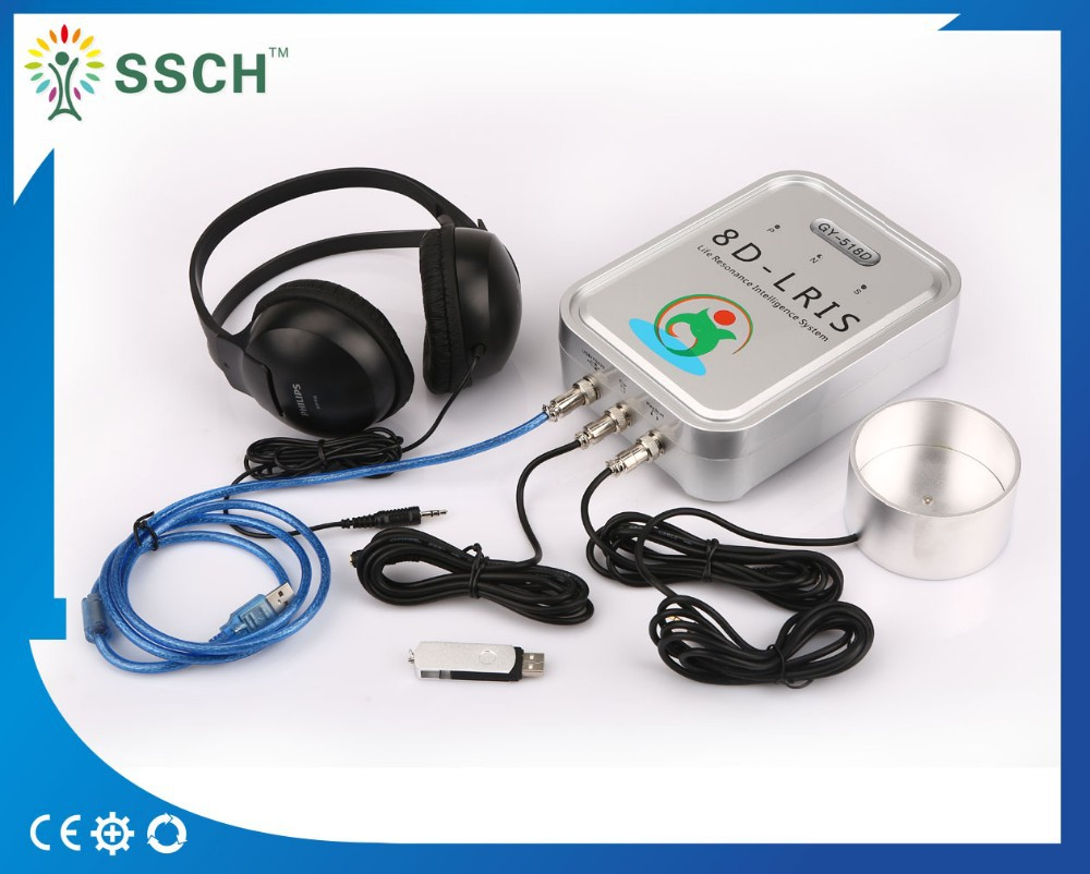 Wholebody health detector bioresonance therapy device 8d nls