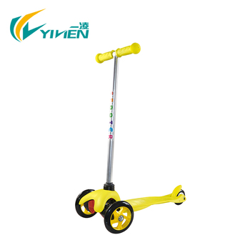 YILIEN new design kids kick 3 wheels scooters