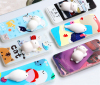 3D Soft Silicone Cartoon Cute Squishy Animal TPU Phone Case making machine mobile phone cover