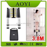 YK Sell fast outdoor combine portable aluminum telescopic step ladder folding en131 for aldi