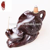 Best price lotus teapot shape frankincense burner With Long-term Service