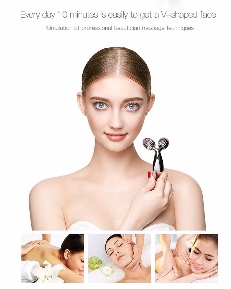 New designed 3D mini multifunction face massager device