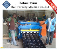 High Cost-performance Botou kejo step tile roof/ wall roof cold roll forming machine