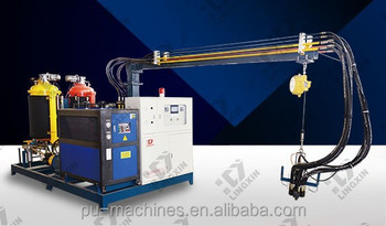 High Pressure PU pouring Machine for PU foaming products making