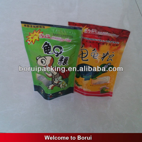 printable plastic food bags,pet food packaging paper bags with window