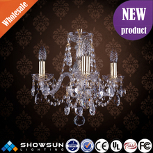 Guzhen indian artistic golden bohemia K9 Crystal pendant light