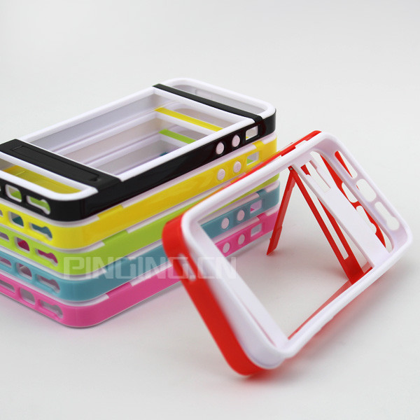 latest for iphone 5 color edge case , holder for iphone5 bumper case