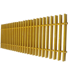 Corrosion resistant fiberglass FRP pultruded grille GRP