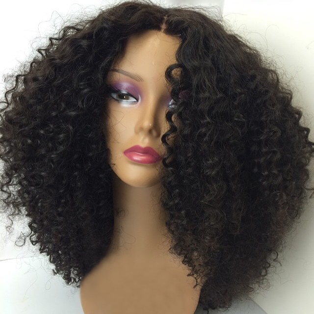 Wholesale Afro Kinky Curly Full Lace Wigs for Black Women