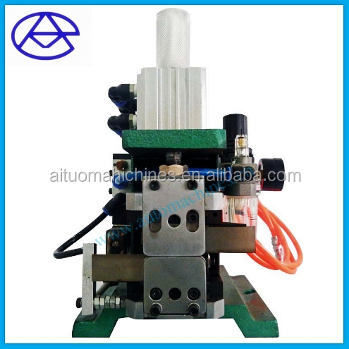 Pneumatic copper wire stripping twisting machine, stripper stripping strand machine, wiring harness stripping machine